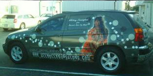 picture of a van wrap