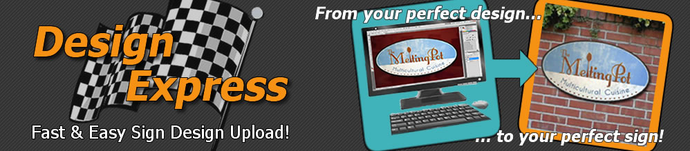 Presto Upload Your Designs Banner