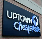 Uptown Cheapskate 3D Letters