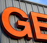 Gerald's Tire 3D Letters