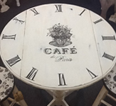 Decorative Table Vinyl Lettering and Graphics
