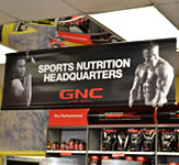 GNC Indoor Banner