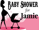 Browse baby shower indoor hanging sign templates