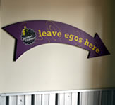Planet Fitness Indoor Wall Sign