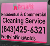 Pretty in Pink Magnetic Sign