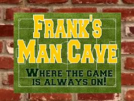 Example of Custom Man Cave Sign