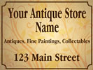 Browse for antique monument sign templates