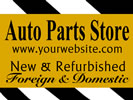 Browse auto repair outdoor hanging sign templates