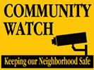 Browse neighborhood watch post and pole sign templates