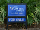 Browse outdoor real estate signs