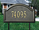 Browse outdoor residential signs