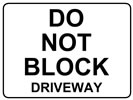 Browse do not block roadside sign templates