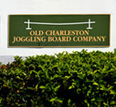 Old Charleston Joggling Outdoor Wall Sign