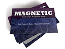 Browse magnetic business card custom promotional product templates