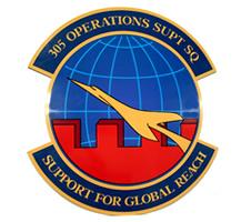 Military logo or emblem on a PVC Sign
