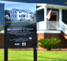 Albert Street Custom Real Estate Sign
