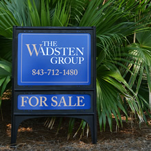 Wadsten Group For Sale Real Estate Sign