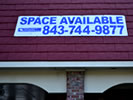 Browse real estate custom vinyl banners