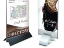 Browse free standing sign bases