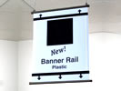 Browse plastic banner rail