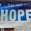 Example of a Church using a Vinyl Banner as promotion