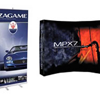 Example of a Banner used in a Trade Show or Convention Information Booth or Display