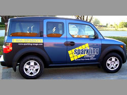 Example of Vehicle Custom Printed Signs