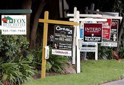 picture of real estate yard signs