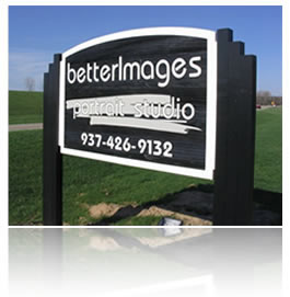 picture of a custom sandblasted redwood sign