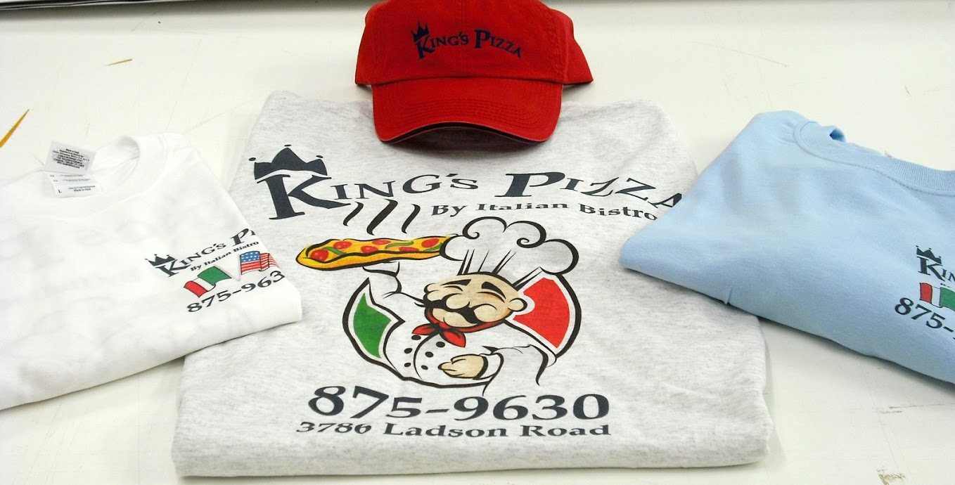 Example of promotional apparel