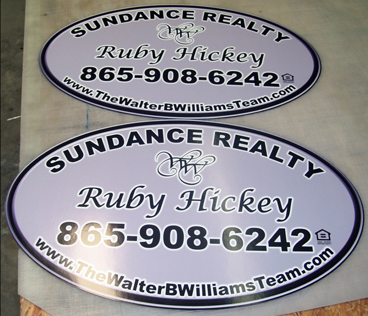 Magnetic signs example