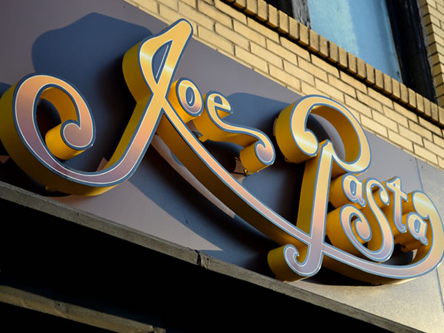 Example of Commercial Sign