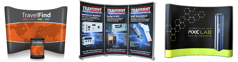 Example of trade show banner sign