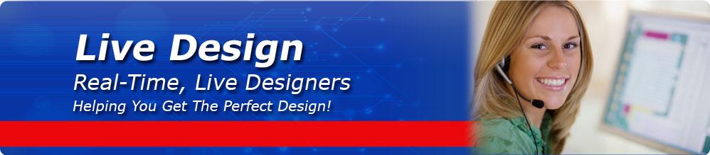Live Design Banner