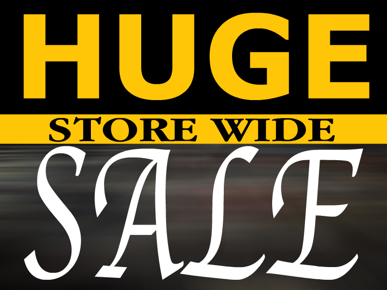 store signage templates