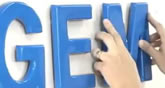 Installing Combination Mounted Sign Letters