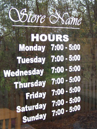 Window Lettering   Vinyl Letters & Graphics   How To Video