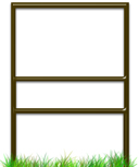 Quantity Package Savings for Slide-In Real Estate Sign Frames With Bottom Rider.