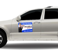 Click Here to Start Designing Your Custom Car Magnet Sign Pair.