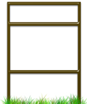 Quantity Package Savings for Slide-In Real Estate Sign Frames With Top Rider.