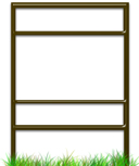Quantity Package Savings for Slide-In Real Estate Sign Frames With Top and Bottom Rider.