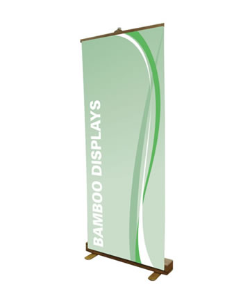 Standard Bamboo Retractable Display 33.5