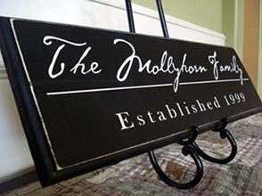Family Room Name Signs
