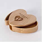 Engraved Heart Keepsake Box