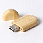Engraved 2GB Bamboo Flash Drive