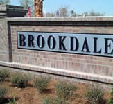 Brookdale Monument Sign with 3D Letters