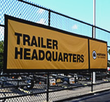 Trailer Headquarters Outdoor Banner