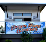 Dream House Outdoor Banner