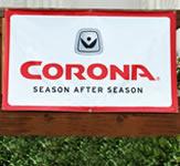 Corona Outdoor Vinyl Banner