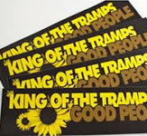 King of the Tramps Bumper Stickers